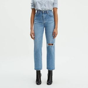Levi's Ribcage Straight Ankle NWT